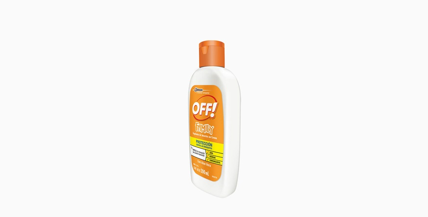 Repelente OFF!® Family Crema